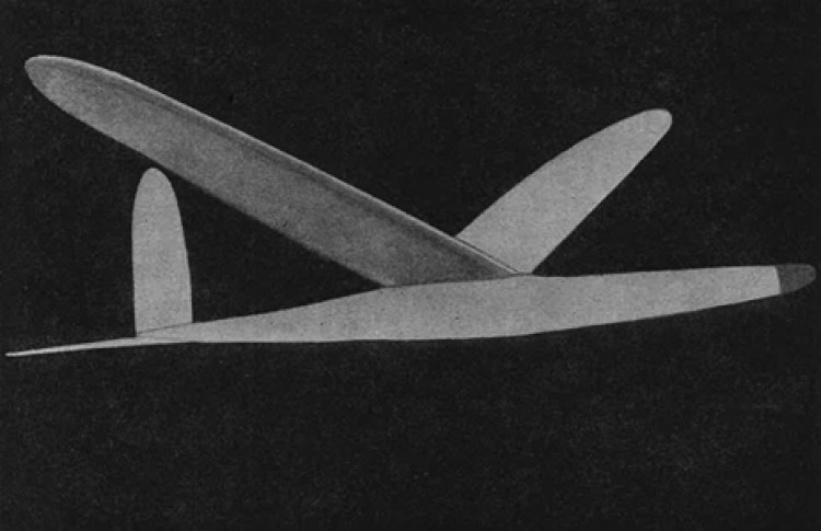 Championship Glider model airplane plan