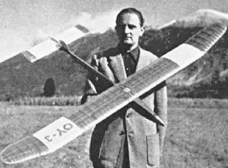 World´s Championship Glider model airplane plan