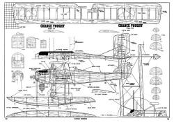Vought VE-9 model airplane plan