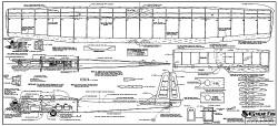 Cheap Fun RCM-1261 model airplane plan