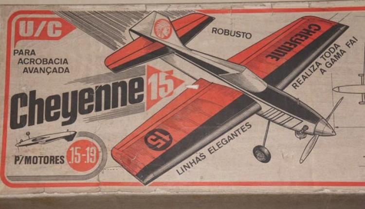 Cheyenne 15 model airplane plan
