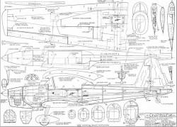 Chipmunk model airplane plan