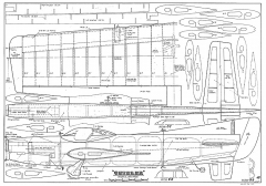 Chizler CL model airplane plan