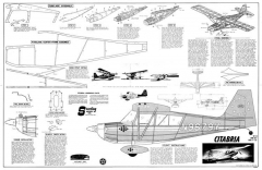 Citabria model airplane plan