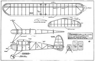 Clansman. model airplane plan