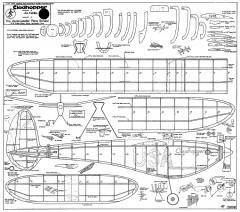 Clodhopper Rubber model airplane plan