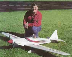 Cloud Dancer 120 model airplane plan