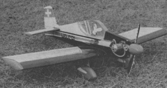 Colibri MB II model airplane plan