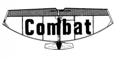 Combat model airplane plan