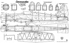Commander Mk1 Wik model airplane plan