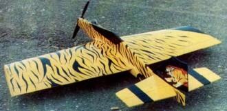 Commodore model airplane plan
