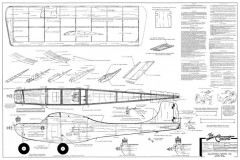 Concord model airplane plan