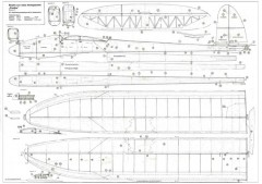 Condor Bauplan Robbe model airplane plan