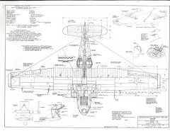 Consolidated Vultee PBY-5A model airplane plan