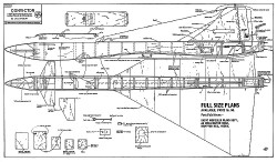 Convictor RM-69 model airplane plan
