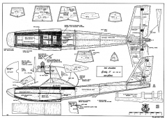 Corky 2 RCM-678 model airplane plan
