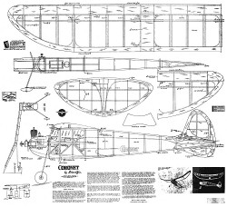 Coronet Scientific 1941 model airplane plan