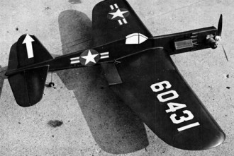 Corsair F4U/C model airplane plan