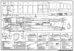 Cosmo 10SR model airplane plan