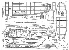 Courier AT 1950 model airplane plan