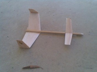 Cowra Canard model airplane plan