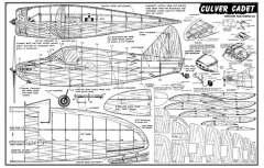 CulverCadet model airplane plan