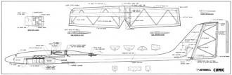 Cumic Plus Airtronics model airplane plan