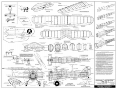 Curtiss F11-C2 Goshawk model airplane plan