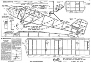 Curtiss Robin model airplane plan