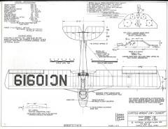 Curtiss-Wright CW-1 Junior model airplane plan