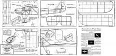 Curtiss-Wright Coupe model airplane plan