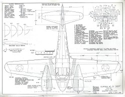 Curtiss AT-9 Jeep model airplane plan
