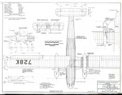 Curtiss B-20 Condor model airplane plan