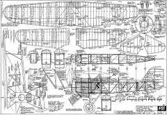 Curtiss F6C-3 FSI model airplane plan