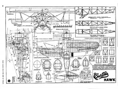 Curtiss Hawk model airplane plan
