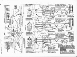 Curtiss Hawk P-1 model airplane plan