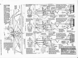 Curtiss Hawk P-1 model airplane plan