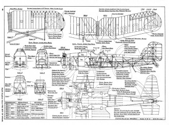 Curtiss Hell Diver F8C model airplane plan