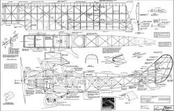 Curtiss JN-4D Jenny model airplane plan