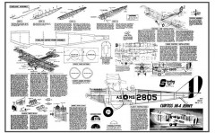 Curtiss Jenny model airplane plan