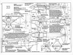 Curtiss Model 33 & PW-8 model airplane plan