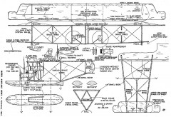 Curtiss NC-4 30in model airplane plan