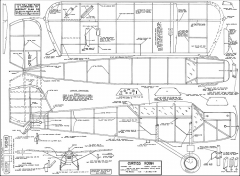 Curtiss Robin 1935 model airplane plan