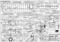 Curtiss Robin 2 model airplane plan