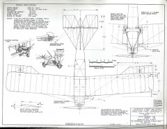 Curtiss Signal Corps 21 model airplane plan
