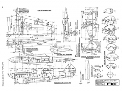Curtiss Wright-Kittyhawk P-40D model airplane plan