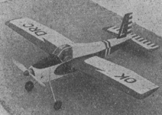 Cvrcek model airplane plan