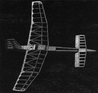 D.G. 178 model airplane plan