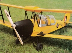 D.H. 82C Tiger Moth model airplane plan