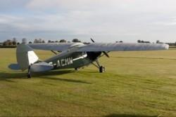 D.H 85 Leopard Moth model airplane plan